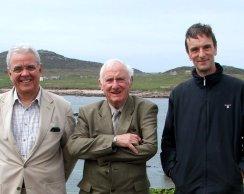Bill in Connemara 15 Three wise men - Bill Dan and rODGER-1