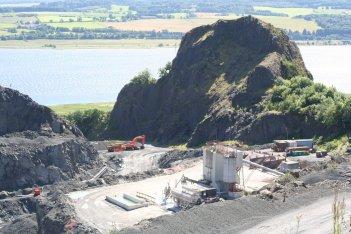 Dumbuck quarry now