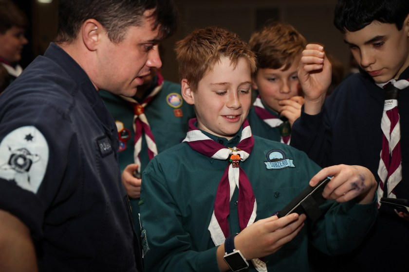 SCOUTS AND NAVY