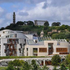 Holyrood parliament building