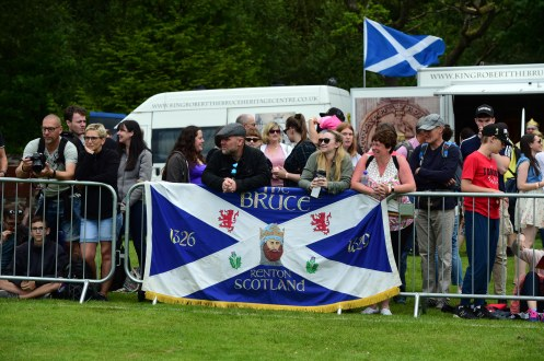 "Free pictures on behalf of West Dunbartonshire council. 2019 Loch Lomond Highland games at the Moss O' Balloch. A record number of visitors turned out to watch the popular annual Loch Lomond Highland Games at Balloch today. More than 9,000 visitors attended the event, in Moss OÕBalloch Park, for a range of traditional highland game competitions including cycling, running, hammer throwing and heavy weights and the traditional tossing of the caber and tug-of-war. Dancers entertained the crowds by performing traditional highland dances with their immaculate costumes and perfect hair, and spectators enjoyed music from Helensburgh Clan Colquhoun and Tulliallan pipes and drums. The popular games welcomed visitors from as far afield as Germany and Canada who travelled to Scotland to enjoy the traditional Scottish games and was broadcasted to millions of viewers in China watching Chinese travel programme ÔZhuÕs life in BritainÕ. Aynsley Gouck, Assistant Director of Niagra Highland Dance Academy, said ÒWe are over from Ontario Canada and we are attending four Highland Games during our visit. We love Balloch itÕs a beautiful area of Scotland and weÕve been looking forward to our visit. The Highland Dancing competition is very well organised and the girls are very honoured to be dancing in Scotland.Ó German friends Tina and Arthur Helbig and Kirsten and Volber Rademacher, said: ÒWe are in Scotland for 10 days and although weÕre not staying in Balloch we couldnÕt miss this event. ItÕs a great to see all the smart girls in their beautiful Highland dress and hear the pipe band. We are very excited to be here today.Ó West Dunbartonshire Council leader Jonathan McColl, said: ""This yearÕs event was a fantastic day and helped by the wonderful weather. Well done to all the competitors for putting on a great show and thanks to the spectators for encouraging the athletes and putting on a great show. ItÕs always lovely to meet visitors who have travelled around the world to attend this great event. I am proud of our Scottish heritage and the Games are a great way for tourists and visitors to get a true taste of Scotland. Well done to the GamesÕ committee, West Dunbartonshire Leisure Trust and West Dunbartonshire Council on organising yet another hugely successful event.Ó The Chieftain of the Loch Lomond Highland Games, Major James Macrae said: ""I am delighted with this yearÕs event which has been a great success and has been very well attended. WeÕve been really fortunate with the weather the last two years and we are grateful to the thousands who came along, which is great testament to everyone involved in organising the Games. Over the years, the games have attracted contestants and spectators from home and abroad every year and I would like to thank everyone who played their part in making this yearÕs games a huge success. On behalf of the committee, I would like to thank our contestants and sponsors, in particular West Dunbartonshire Council and West Dunbartonshire Leisure Trust, for their continued support."" For a full round up of results please visit Loch Lomond High Games website at www.llhgb.com Copyright photo by Paul Chappells, 07774730898 www.paulphoto.co.uk"