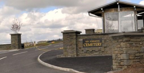 new cemetery gates