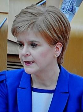 Sturgeon at FMQs 2