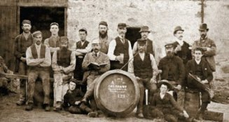 Whisky production in the old days