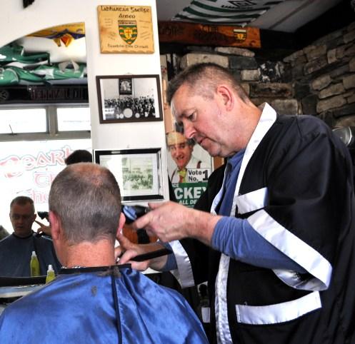 Boxing barber 10