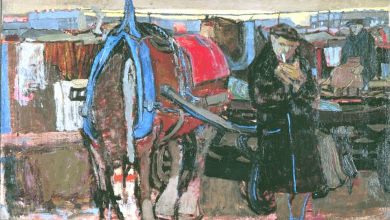 Eardley A Carter and his Horse 1952 (Private Collection) 2
