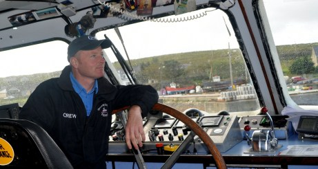 King 14 Pat Concannon, skipper of the Inishbofin ferry. His relatives were lost in Cleggan disaster.