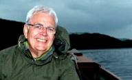 Bill fishing on Loch Lomond