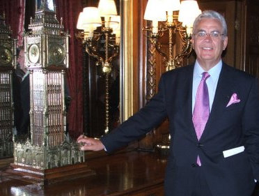 Bill in the Speaker's House at Westminster