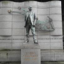Dublin statues James Connolly, the Irish Rebel born in Edinburgh