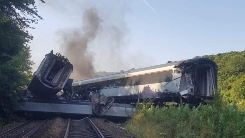 train crash new