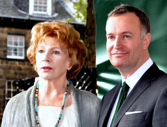 Edna O'Brien and Andrew O'Hagan