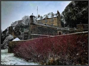 Snowjane by Michael Moffat at Dumbarton Castle