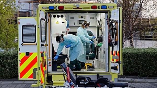 virus 67 back of ambulance