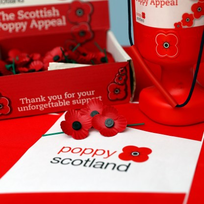 Launch of Poppy Scotland HMNB Clyde Words to follow