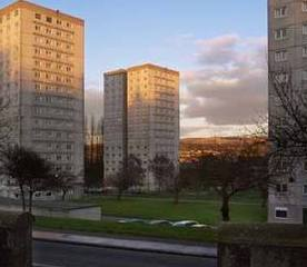West Bridgend flats