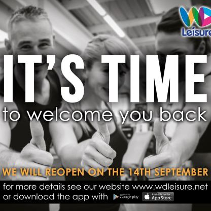 leisure re-opening