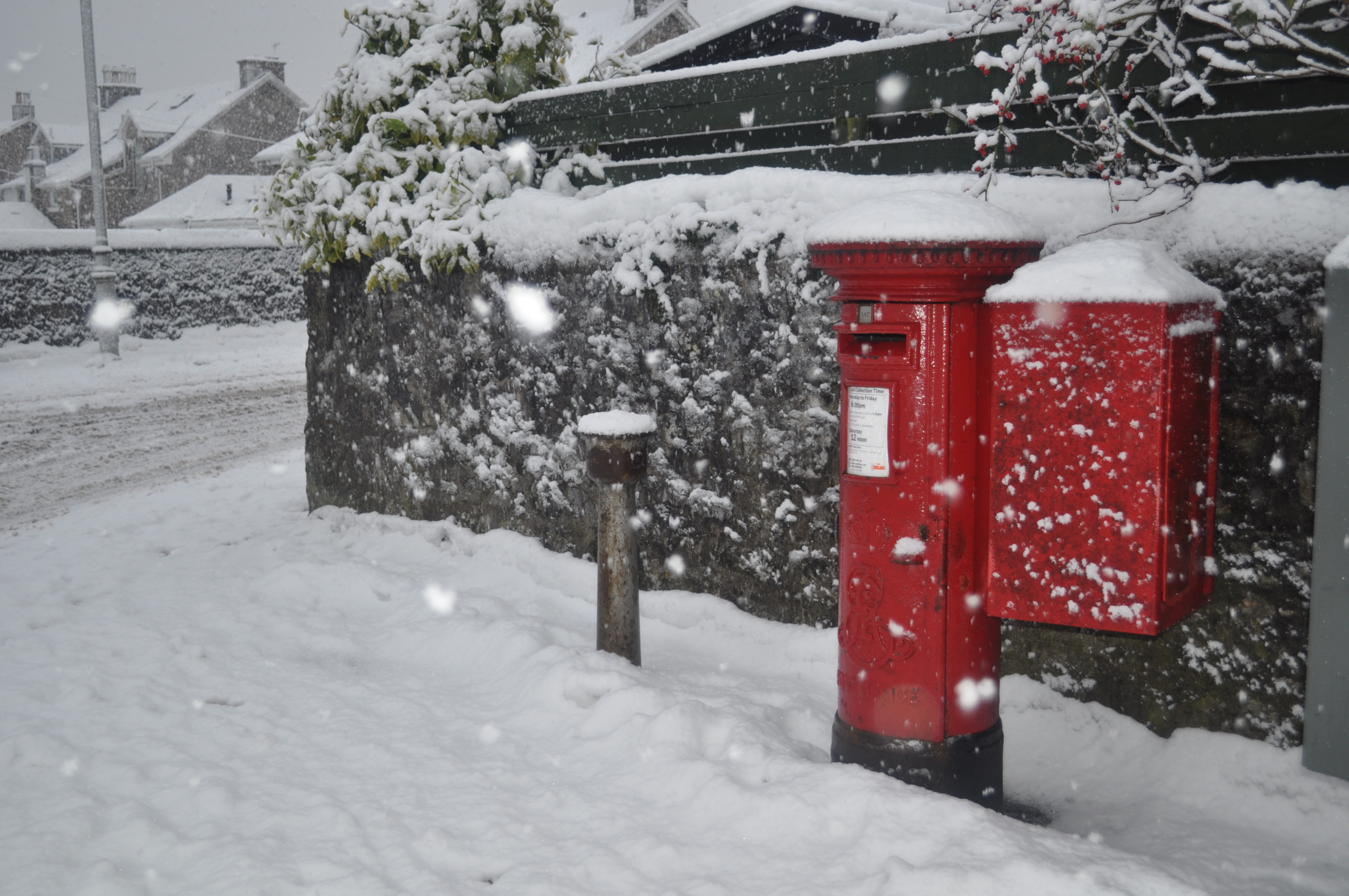 SAVE THE SIX DAY POSTAL SERVICE, SAYS MSP BAILLIE