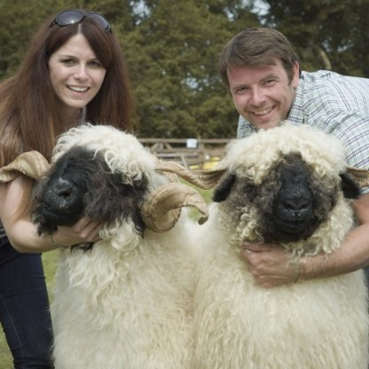 women farmers - Drymen 2.jpg 1 Royal Black Valais sheep