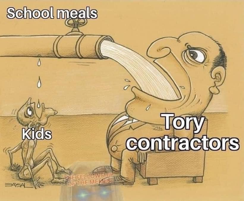 POLITICS: THE BIG SCHOOLS MEALS RIP OFF EXPOSED