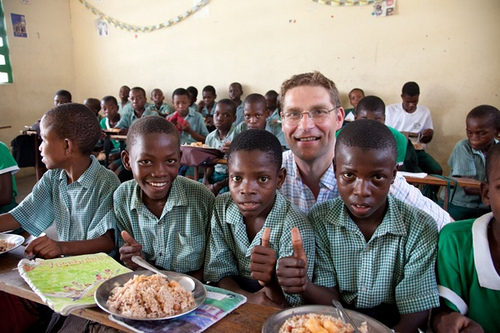 MARY'S MEALS: A SIMPLE SOLUTION TO WORLD HUNGER