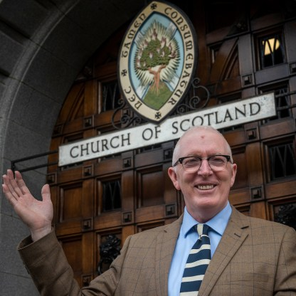 Monday 21st of October 2019: The Moderator-Designate of the General Assembly of the Church of Scotland (who will serve from May 2020-May 2021) Rev Dr Martin Fair was announced at the HQ of the Church in Edinburgh this morning