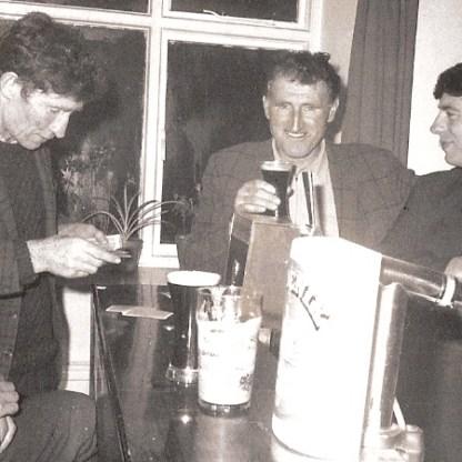 Bill in Connemara 26 Cleggan - Owen and Frank and Bunny
