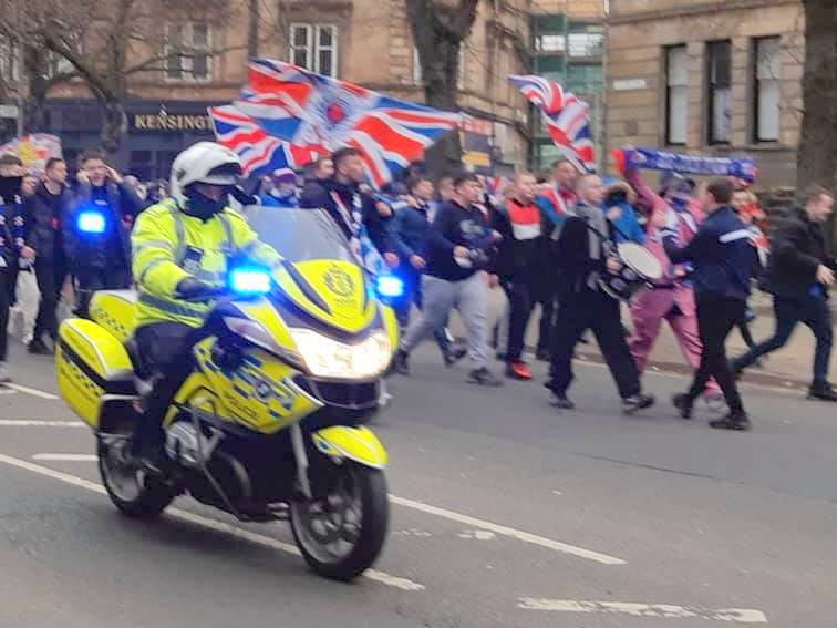 FANDEMONIUM: FIRST MINISTER FURIOUS OVER BEHAVIOUR OF RANGERS FANS' PREMIERSHIP CELEBRATIONS
