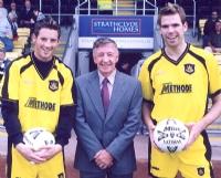 Gallacher Hughie of Dumbarton FC
