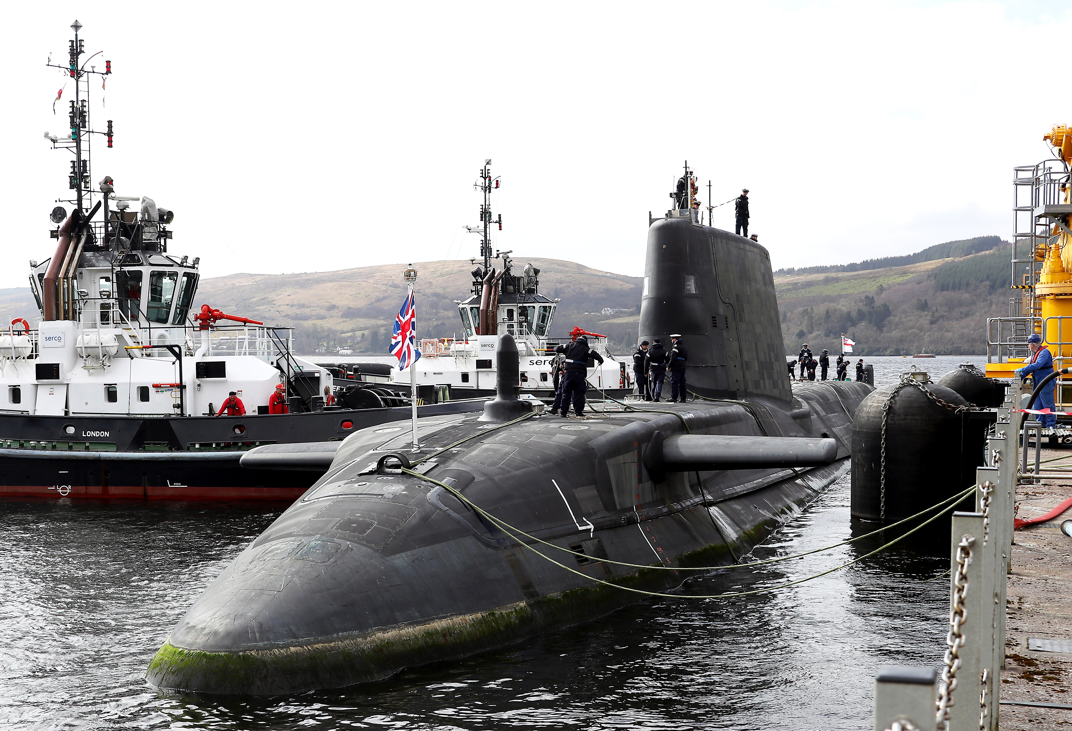 Nuclear Rearmament:  One organisation that hasn't ignored it is the Campaign for Nuclear Disarmament