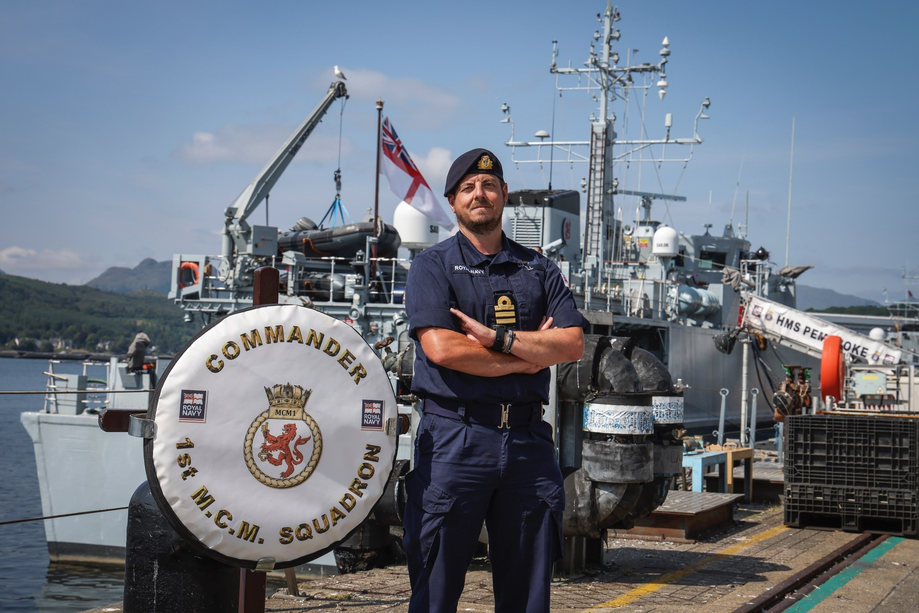 DEFENCE: NEW COMMANDING OFFICER FOR FIRST MINE COUNTER MEASURES SQUADRON