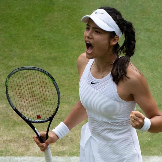 EMMA RADACANU: THE FACE OF A WINNER