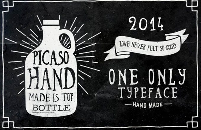 Picaso Hand Made Font