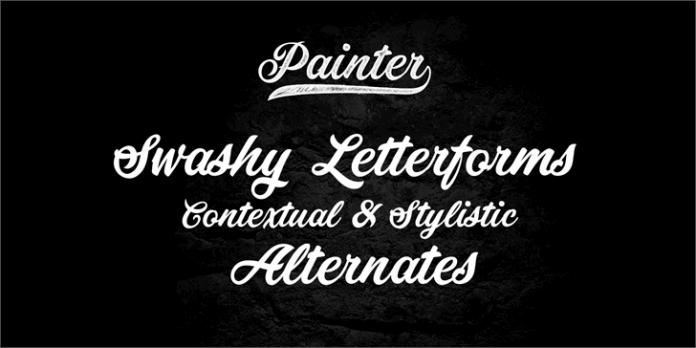 Painter Font