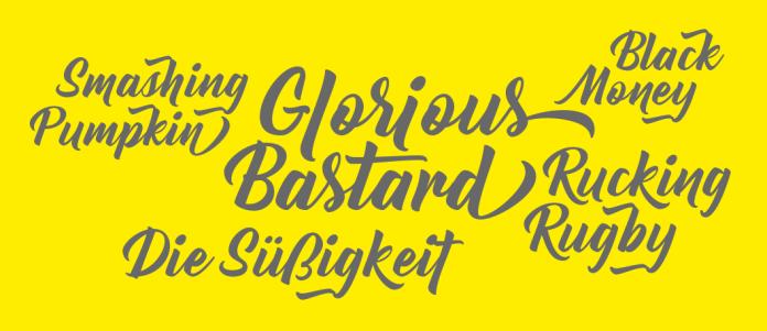 Bernadette Rough Font