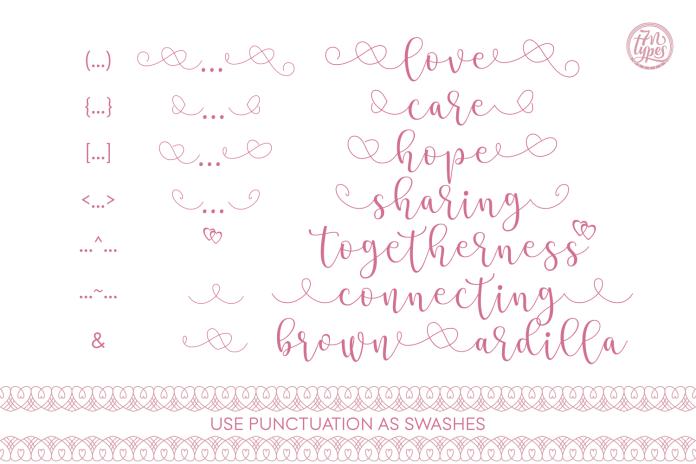 Stea Calligraphy Font