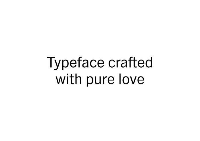 Barter Exchange Typeface