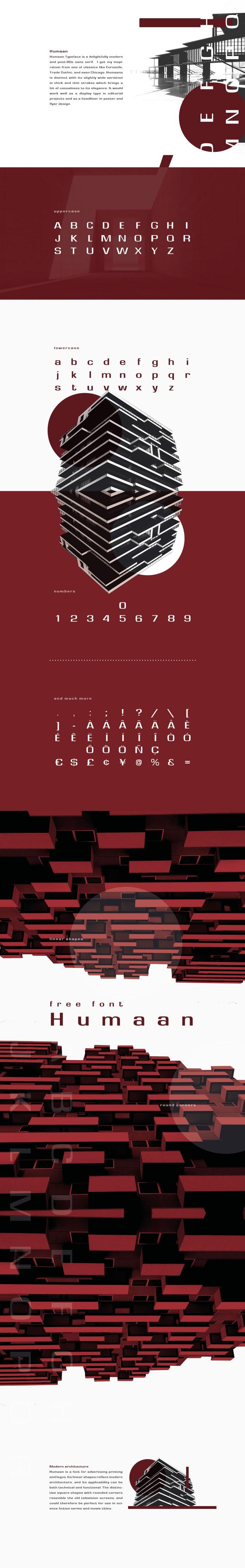 Humaan Typeface