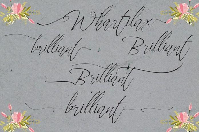 Whartillax Calligraphy Font