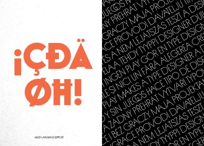 UltraViolent Typeface