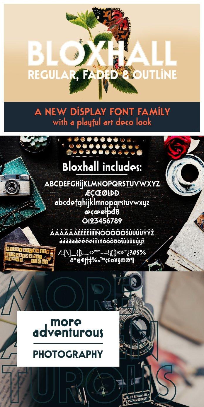 Bloxhall Display Font