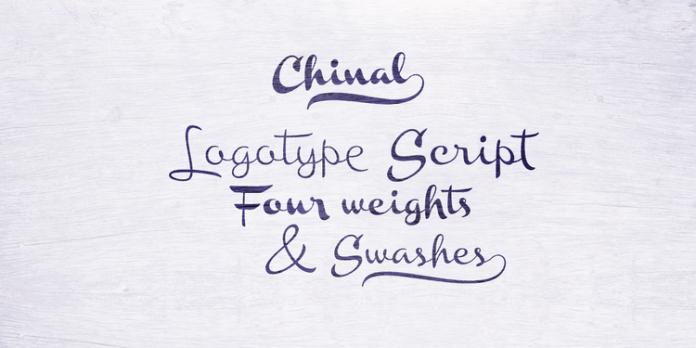 Chinal Script Font