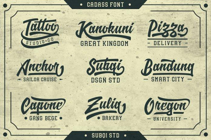 Cadass Script Font