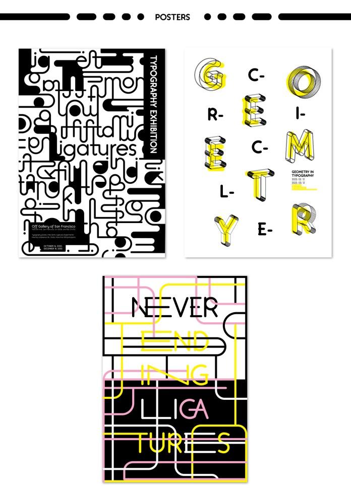 Fifita Ligatures Typeface