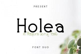 Holea Font Duo