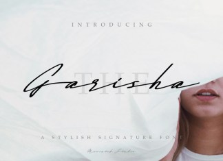 The Garisha Signature Font