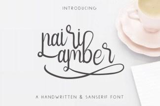NairiAmber Font Duo