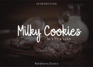 Milky Cookies Font