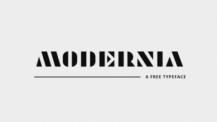 Modernia Font Demofont Com