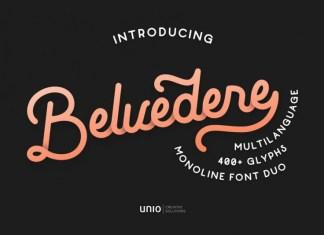 Belvedere Font